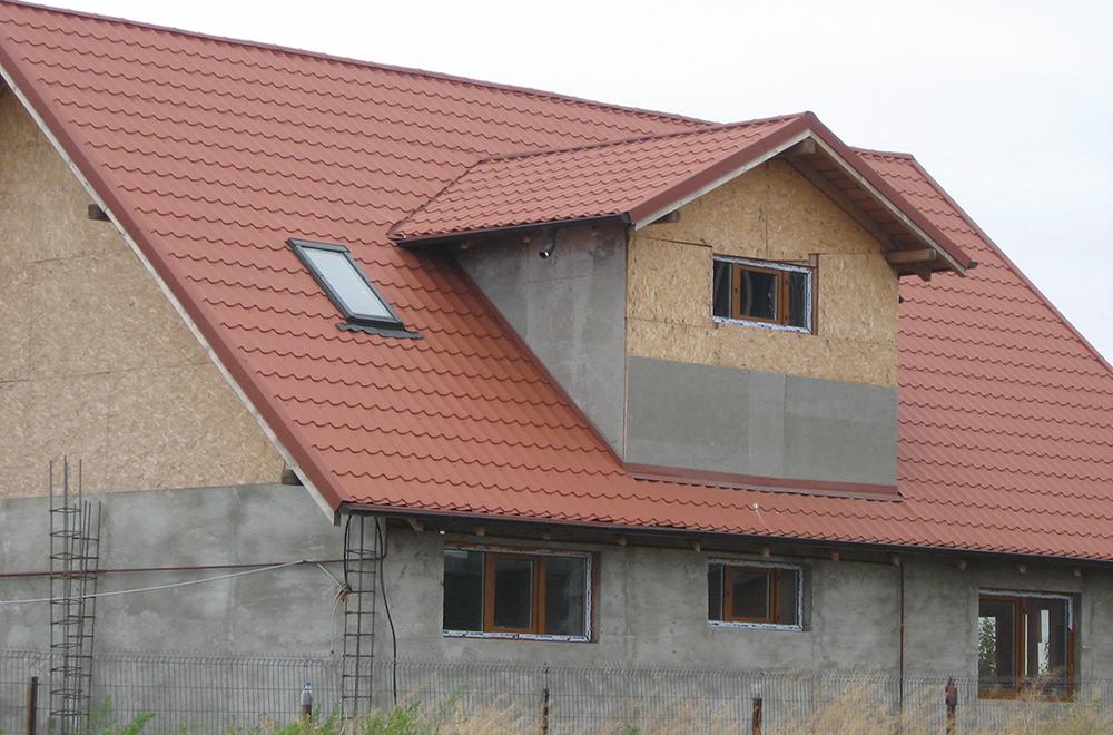 acoperis casa klauman Galati Ral 8004